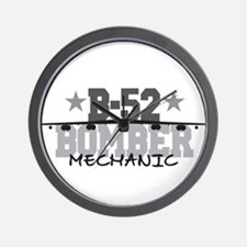 B-52 Aviation Mechanic Wall Clock
