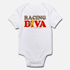 Racing Diva Y/G Infant Bodysuit