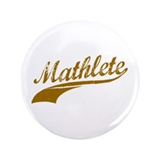 "Mathlete (Chocolate) 3.5"" Button"