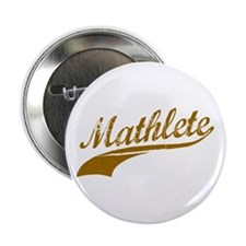 "Mathlete (Chocolate) 2.25"" Button (10 pack)"