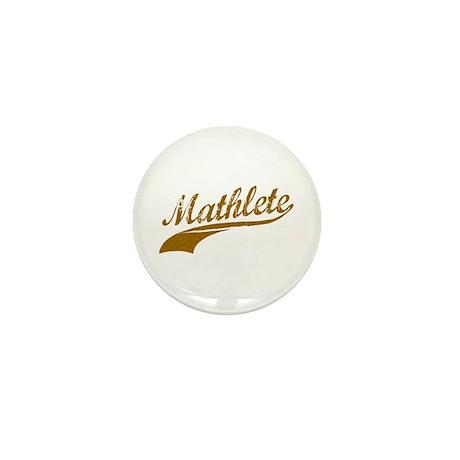 Mathlete (Chocolate) Mini Button (10 pack)
