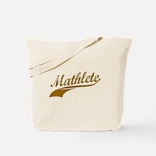 Mathlete (Chocolate) Tote Bag