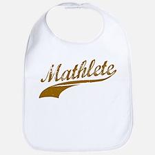 Mathlete (Chocolate) Bib