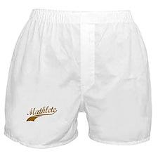 Mathlete (Chocolate) Boxer Shorts