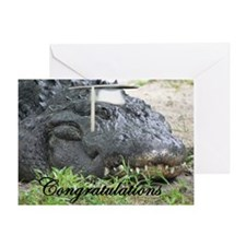 Gator Graduation Greeting Card
