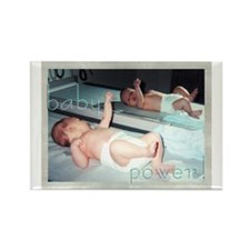 baby power! -- Rectangle Magnet