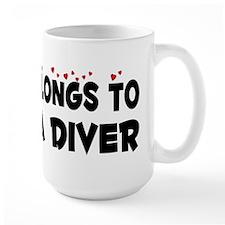 Belongs To A Scuba Diver Mug