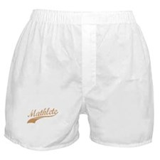 Mathlete (Cocoa) Boxer Shorts