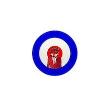 Mod Wolf/The Mighty Boosh Mini Button