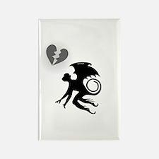 Flying Monkey In Moonlight Rectangle Magnet