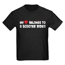 Belongs To A Scooter Rider T