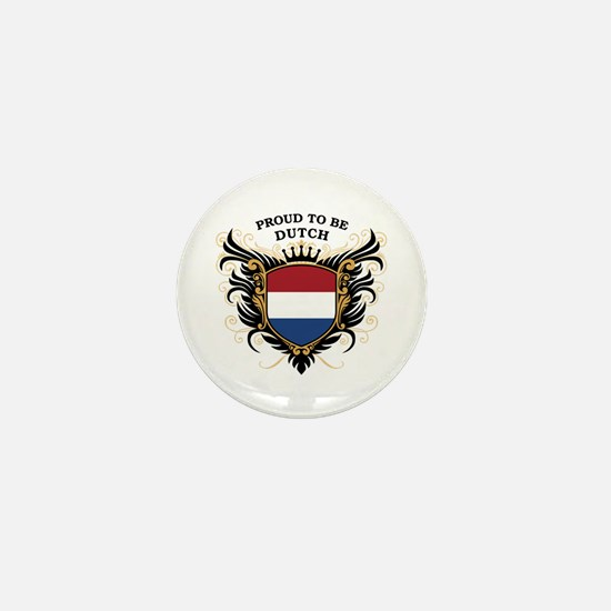 Proud to be Dutch Mini Button