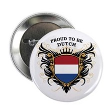 "Proud to be Dutch 2.25"" Button"