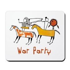 The War Party Mousepad