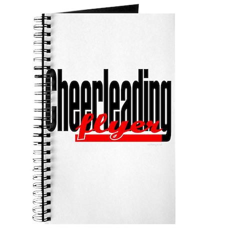 (Red) Cheerleading Flyer Journal