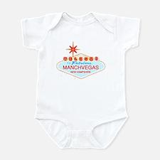 Manchvegas with Star Shirt Infant Bodysuit