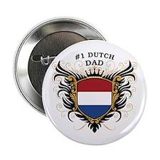 "Number One Dutch Dad 2.25"" Button"