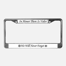 Unique Policewives License Plate Frame