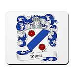 Dorn Family Crest Mousepad