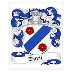 Dorn Family Crest Small Poster