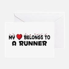 Belongs To A Runner Greeting Card