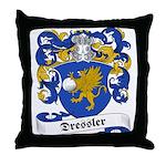 Dressler Family Crest Throw Pillow