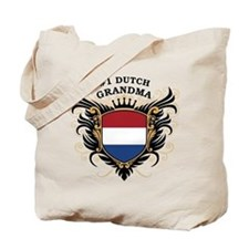 Number One Dutch Grandma Tote Bag