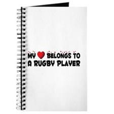 Belongs To A Rugby Player Journal