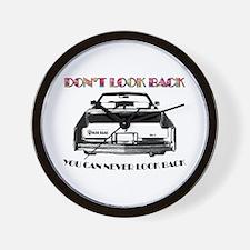 Deadhead Sticker Cadillac Wall Clock