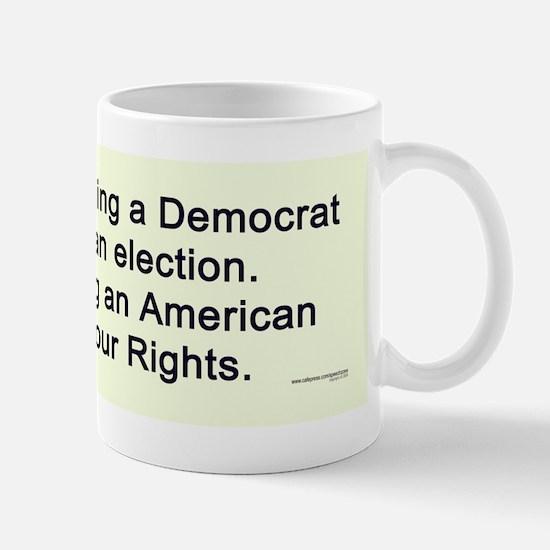 Losing Our Rights Mug