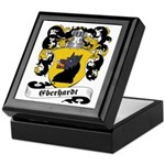 Eberhardt Family Crest Keepsake Box