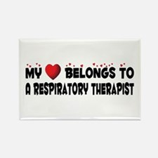 Belongs To A Respiratory Therapist Rectangle Magne