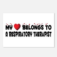 Belongs To A Respiratory Therapist Postcards (Pack