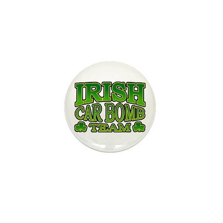 Irish Car Bomb Team Shamrock Mini Button (10 pack)
