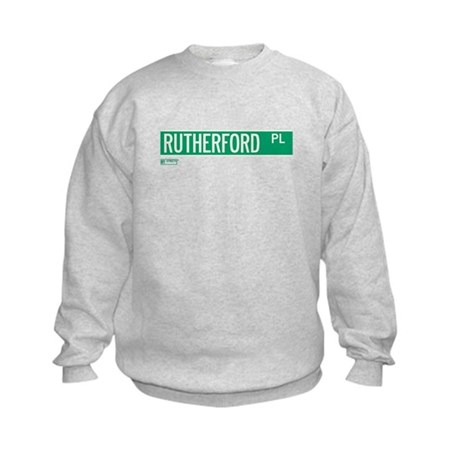 Rutherford Place in NY Kids Sweatshirt