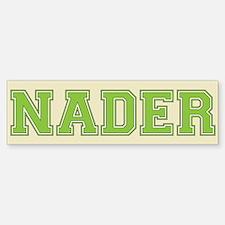 Nader 08 Bumper Bumper Bumper Sticker