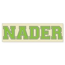 Nader 08 Bumper Bumper Sticker