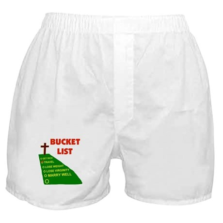 BUCKET LIST Boxer Shorts