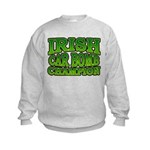 Irish Car Bomb Champion Shamrock Kids Sweatshirt