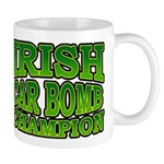 Irish Car Bomb Champion Shamrock Mug