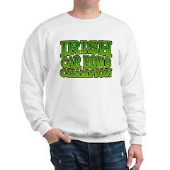 Irish Car Bomb Champion Shamrock Sweatshirt