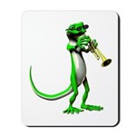 Blues Trumpet Gecko Mousepad
