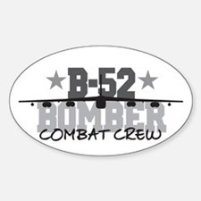 B-52 Aviation Combat Crew Oval Decal