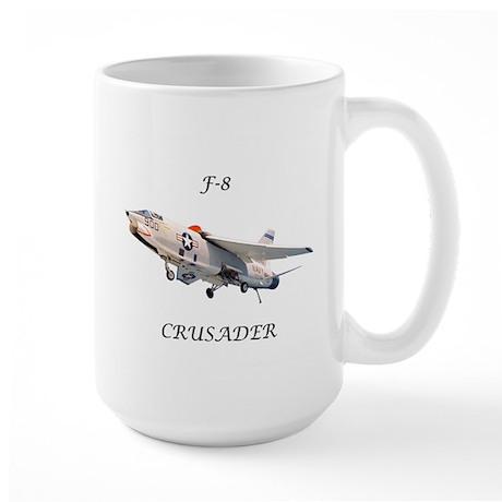 F-8 Crusader Large Mug