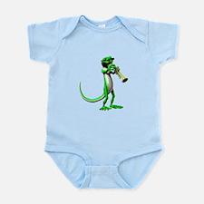 Blues Trumpet Gecko Infant Bodysuit