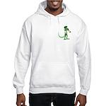 Blues Trumpet Gecko Hooded Sweatshirt