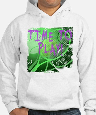 Time to Play Tennis Hoodie