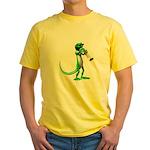 Blues Trumpet Gecko Yellow T-Shirt