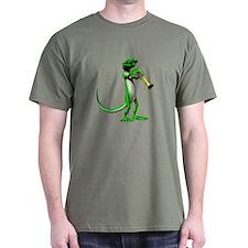 Blues Trumpet Gecko T-Shirt