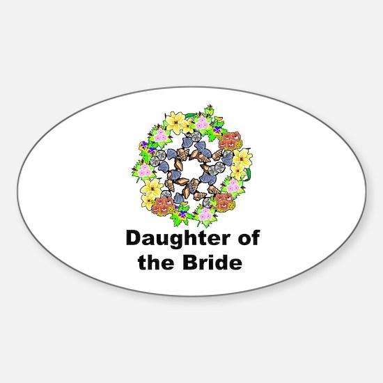 Pagan Pentagram Daughter of the Bride Decal
